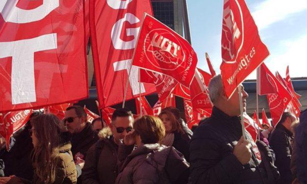 UGT se moviliza contra el ERE de Bankia-BMN