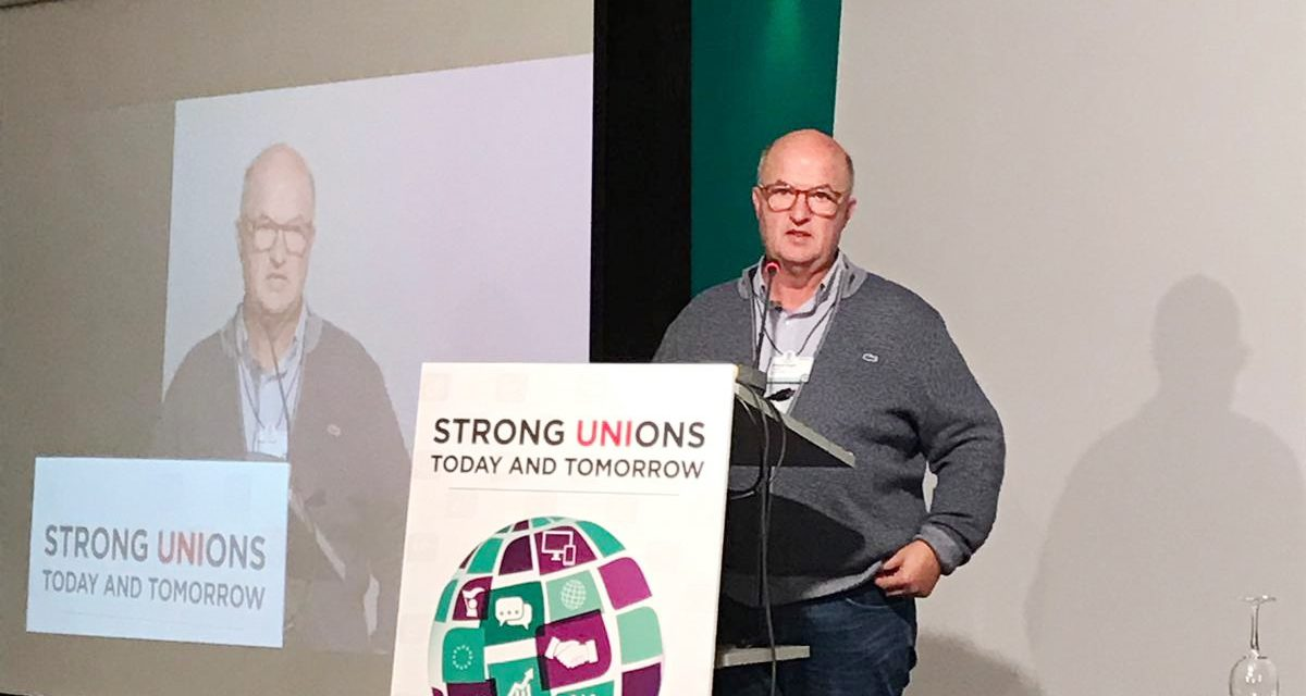 Cilleros clausura la Conferencia Mundial del sindicato UNI Finance