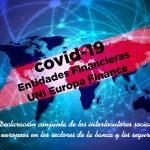 Declaración conjunta de los interlocutores sociales europeos en los sectores de la banca y los seguros sobre la crisis de emergencia de COVID-19