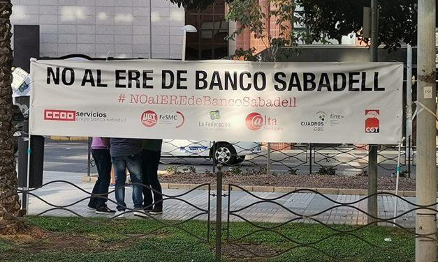 Esta semana, nuevas concentraciones en Barcelona y Lleida contra el ERE en Banco Sabadell